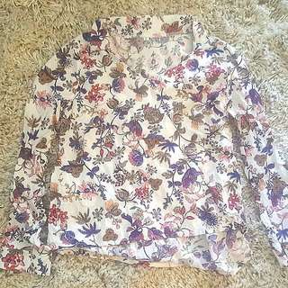 Floral Blouse Shirt