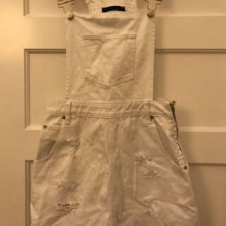 Mink Pink Dungaree / Overall Dress