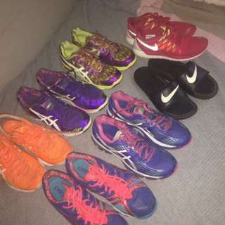 Bulk Netball Shoes 👠 And One Pair Of New Nikes