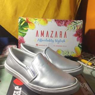 Amazara Slip On silver