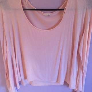 Pink Soft Long Sleeve Garage Top