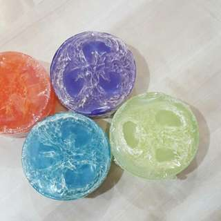 Loofah Soap Bars