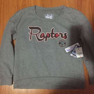 Raptors Sweater With Tags