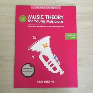 Poco Music Theory for Young Musician Grade 1