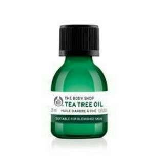 🚚 THE BODY SHOP TEA TREE OIL 茶樹精油 美體小舖
