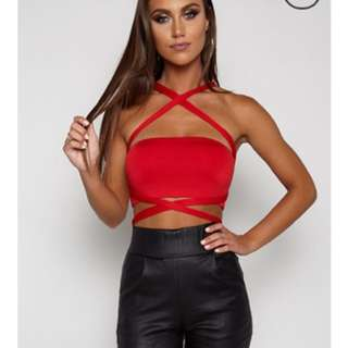 Babyboo Red Top