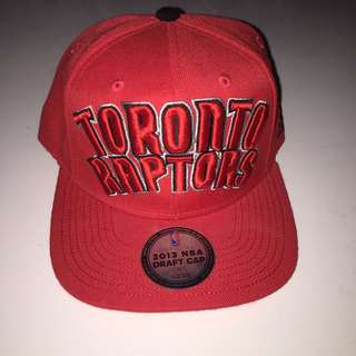 Toronto Raptors Adidas Fitted Cap NBA Draft