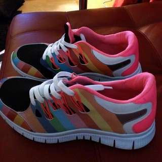 Women Sneakers. Size 8.5.  New.