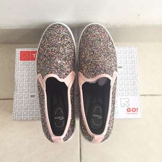 Tracce Pink Bling Bling Shoes