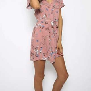 Size 8 Floral Dress