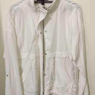 preloved forever21 white jacket