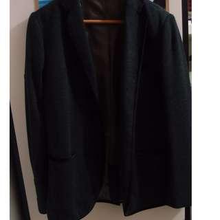 FRED FERRY 深灰色西裝外套