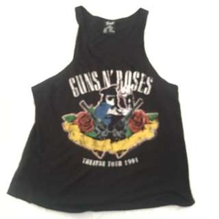 Sleeveless Vintage Guns N' Roses Tshirt
