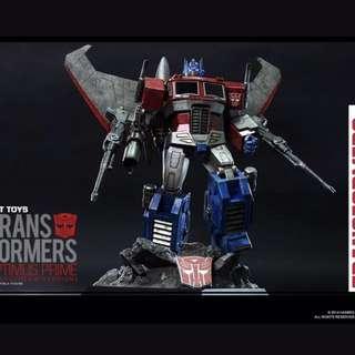 Hot Toys Transformer Optimus Prime StarScream Version