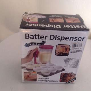 Batter dispense
