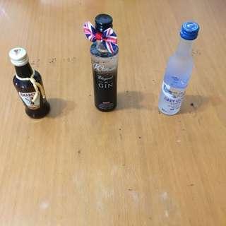 英國購買的3 支酒版