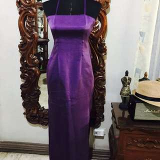Purple Formal Gown