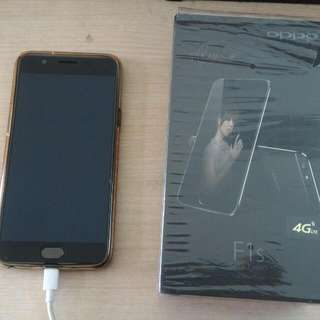 oppo f1s black limited edition (raisa)