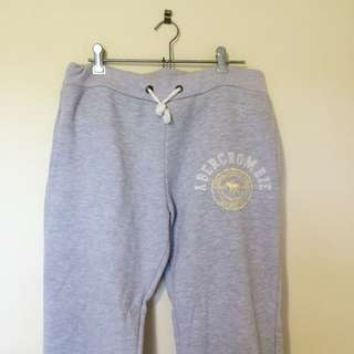 Grey Abercrombie Tracksuits