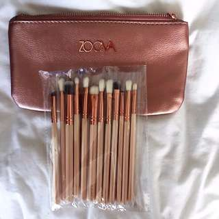Zoeva Replica 12 Brushes with Bag