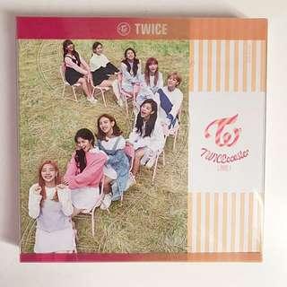 TWICE TwiceCoaster Lane 1 Apricot Version Album