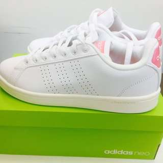 Adidas Neo Sneakers White(Pink)
