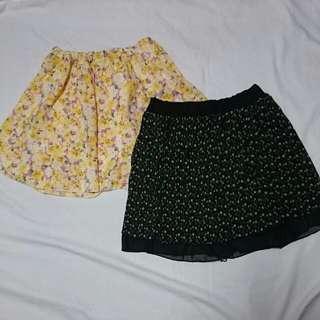2 in 1 Summer Skirt