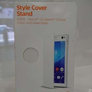 Sony C4 專屬SCR38原廠皮套 特價促銷