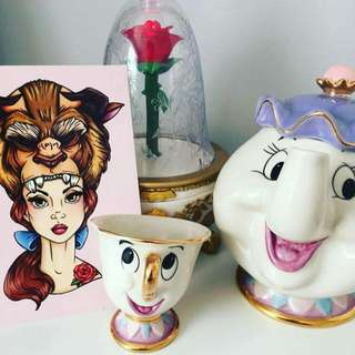 🌹MRS POTT & CHIP TEACUP TEA SET🌹