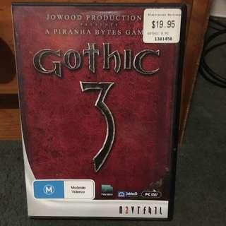 PC DVD Gothic 3