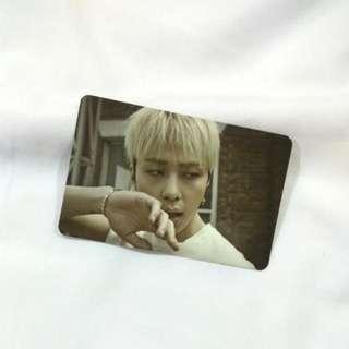 B2ST/BEAST 6th Mini Album - Good Luck (Black Ver.) Official Photocard