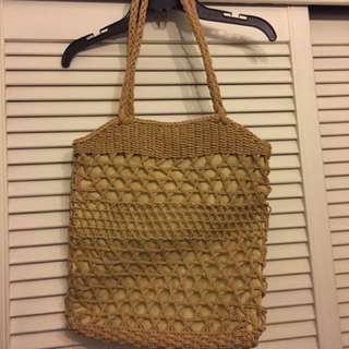 Ralph Lauren Rattan Bag