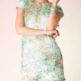ELLIATT Splash Dress (sz L) Mint