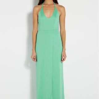 Green AQ/AQ Formal Dress (sz 12)