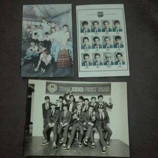 EXO The First Class Picture Set
