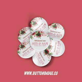 Custom BUTTON BADGE @ 90 CENT!!