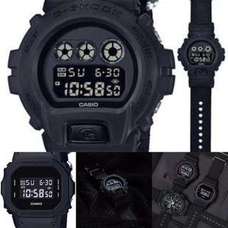 G-SHOCK BASIC BLACK NYLON (BBN) ORIGINAL