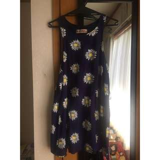 Reverse Daisy Dress