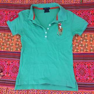 green Ralph Lauren Polo