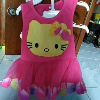 Hello Kitty Baby Dress