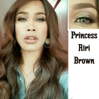 Princess Riri Solotica inspired Sparkle contact lenses