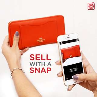 Sell with a SNAP, buy with a CHAT! 📱