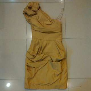 Ciel One Shoulder Dress Sz Xs
