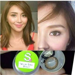 Natural glow Sparkle Contact lenses