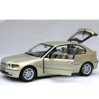KYOSHO BMW 325 ti Compact Coupe RED 1/18