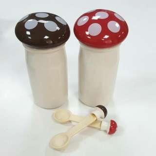 🚚 🍴可愛瓷器調理罐