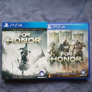 For Honour Ps4 Game