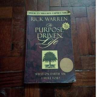 Purpose Drive Life book by Rick Warren