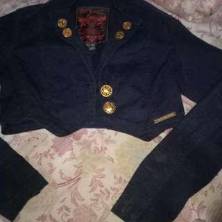 Jaket Jeans Made In Brazil