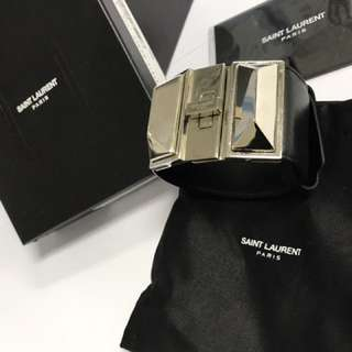 Saint Laurent YSL Bracelet 真皮手鐲(100%真 有單)